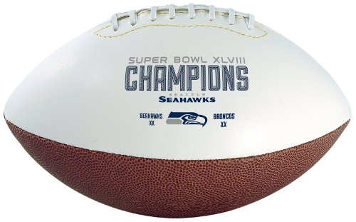NFL Seattle Seahawks Super Bowl 48 Champions Football at Amazon.com