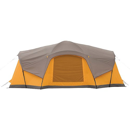 Coleman Canyon Breeze 10-Person Tent W/LED Lighting System and Fan  sc 1 st  Coleman Sundome Tent & coleman 10 person tent: Coleman Canyon Breeze 10-Person Tent W/LED ...