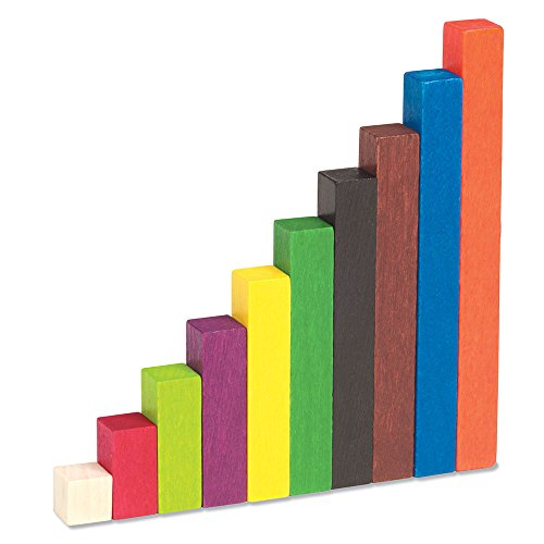 Learning Resources Cuisenaire Rods Small Group Set: Wood