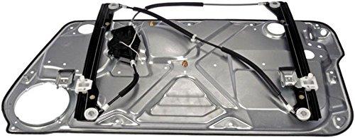 Fits 98-10 VW New Beetle Left Driver Pwr Window Regulator W/Interior Door Panel (2001 Vw Beetle Window Regulator compare prices)