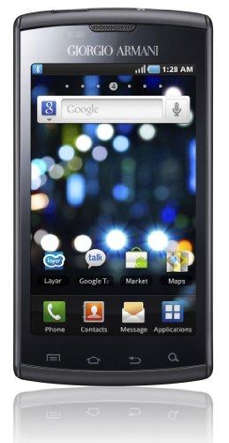 Samsung Giorgio Armani Galaxy S I9010 Smartphone (10,2 cm (4 Zoll) Super Amoled-Touchscreen, HD Video, 1 GHz-Prozessor, 16 GB interner Speicher, Android 2.2) Armani-Edition