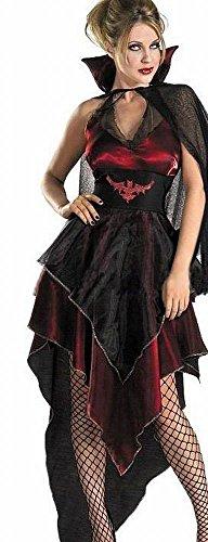 Buy the world 魔女 衣装 コスチューム コスプレ ハロウィン バンパイア ヴァンパイア 吸血鬼 ドラキュラ ゾンビ セクシー ドレス 4点セット