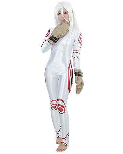 Miccostumes Women's Deadman Wonderland Shiro Cosplay Costume WM