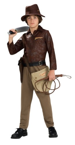 Indiana Jones And The Kingdom Of The Crystal Skull Deluxe Indiana Costume, Tween Size front-513419