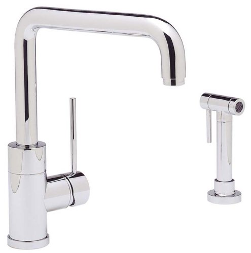 Blanco 440603 Purus I Kitchen Faucet with Metal Side Spray, Polished Chrome