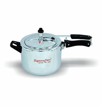 Signoracare Plain Aluminium 3 L Pressure Cooker