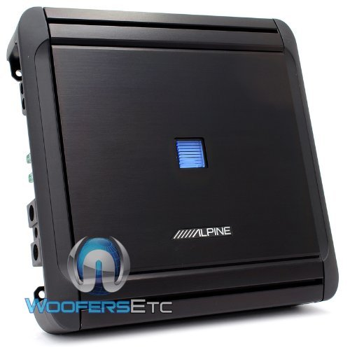 MRV-M500 - Alpine Monoblock 500W RMS V Power Series Car Amplifier
