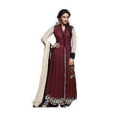 Jinaam Dress Women's Cotton Semi-stitched Salwar Suit Dupatta Material (7S-ZIXY-JQ6F)