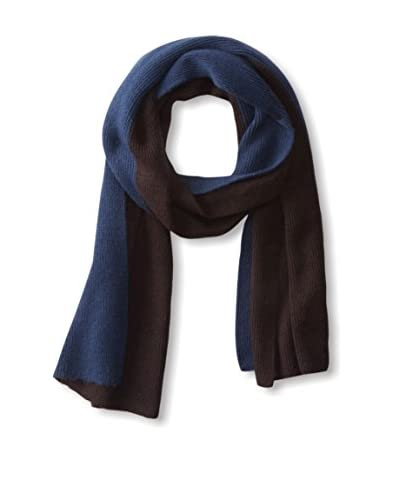 Portolano Men's Colorblock Ribbed Scarf