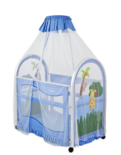 Dream On Me Cassidy Canopy Playard, Blue