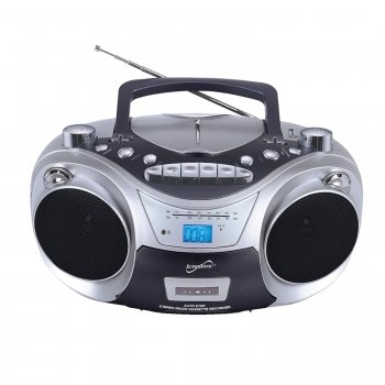 Supersonic Sc-709 Portable Mp3/Cd Player With Cassette Recorder, Am/Fm Radio & Usb Input Superso