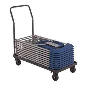 National Folding Chair Cart Flat Stack Home Improvement