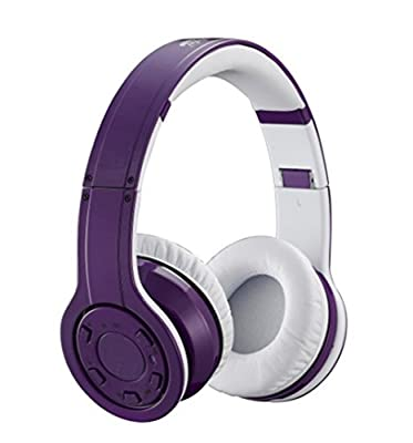 Generic G08 Wireless Bluetooth Noise Cancelling Stereo Headphone Purple
