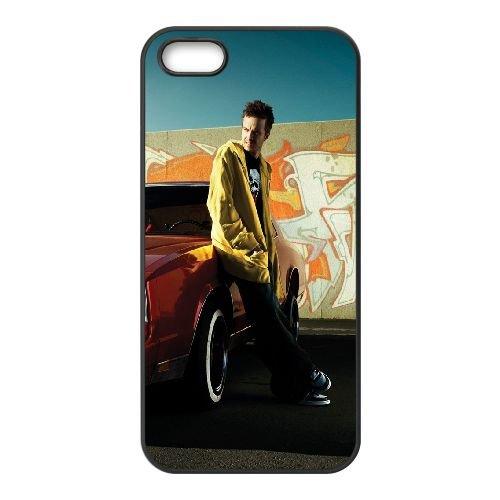 Aaron Paul Car Photo Shoot cover iPhone 4 4S caso cover di telefono cellulare della copertura della cassa del telefono cellulare nero EEEXLKNBC22660