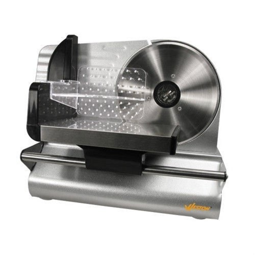 "NEW Home Kitchen Appliance Electric Meat Slicer w 200 Watt Motor & 7-1/2"" Blade"