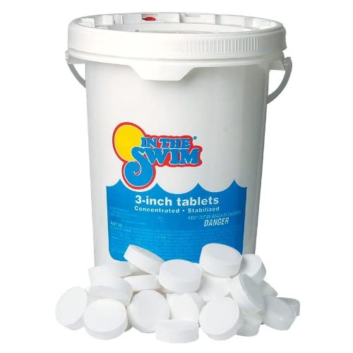 In The Swim 3 Inch Pool Chlorine Tablets 10 lbs.