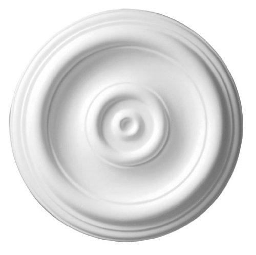 12 Inch Ceiling Medallion Traditional White Primed Polyurethane By Designer's Edge Millwork #D510