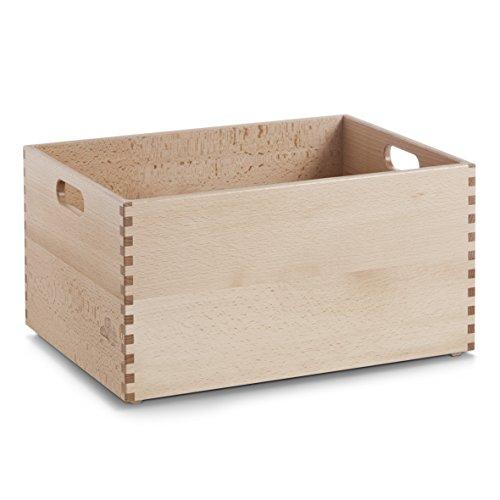 zeller-13309-multi-purpose-box-40-x-30-x-21-cm-beech-lacquered