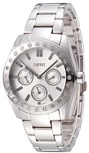 Esprit - ES103382007 - Star - Montre Femme - Quartz Analogique - Cadran Argent - Bracelet Acier Argent