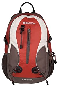 Mountain Warehouse Merlin 23 L Litre Sports Walking School Backpack Day Pack Daypack Rucksack Brown One Size