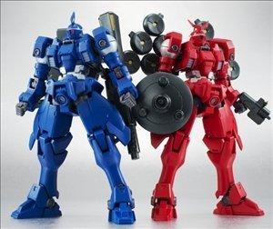 新機動戦記ガンダムW ROBOT魂 SIDE MS ヴァイエイト&メリクリウス