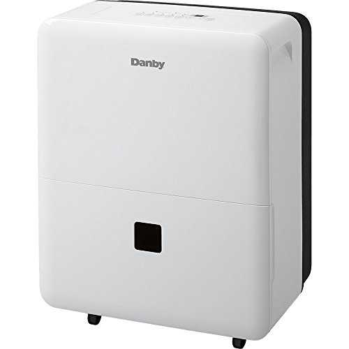 Danby DDR70B3WP Dehumidifier, 70 pint, White