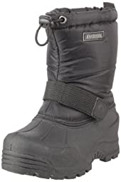 Northside Frosty Snow Boot (Toddler/Little Kid/Big Kid),Black,7 M US Toddler