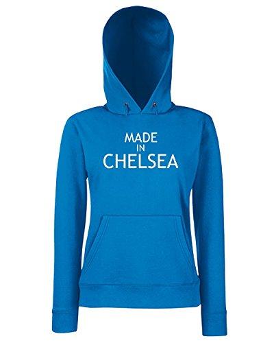T-Shirtshock - Felpa Donna Cappuccio WC0481 Made In Chelsea, Taglia S