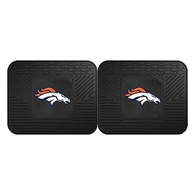 FANMATS 12312 NFL - Denver Broncos Utility Mat - 2 Piece