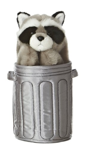 Pop Up Raccoon Puppet<br>Aurora World