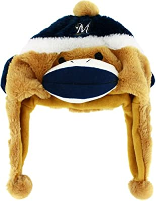 MLB Milwaukee Brewers Sock Monkey Hat