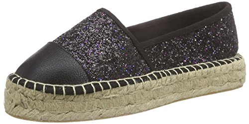 Another Pair of Shoes Eliza K5 - Espadrillas Donna, nero (black 01), 38
