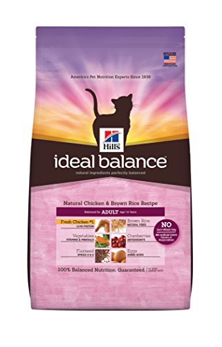 Hill's Ideal Balance Natural Chicken & Brown Rice Recipe Adult