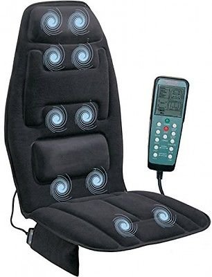 Heated Back Massage Seat Cushion Car Seat Chair Massager Lumbar Neck Pad Heater (Mica Radiator Heater compare prices)