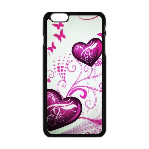 Generic Mobile Phone Cases Cover For Iphone 6 Plus Case 5.5 Inch Case Fashionable Art Designed With Beautiful Butterfly Personalized Shell Cell Phone Protect Skin