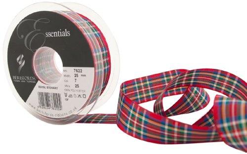 berisfords-7622-nastro-tartan-tradizionale-25-m-x-25-mm-clan-royal-stewart