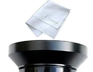 Fotasy 40.5mm Metal Wide Angle Lens Hood, Wide Lens Hood 40.5mm, for Canon Fuji Leica Leitz Nikon Olympus Panasonic Pentax Sony Lens, Screw-in Design (Color: Black, Tamaño: 40.5mm)