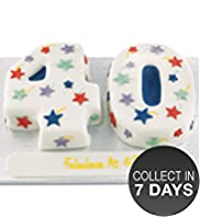Stars Number Cake (Double Number)