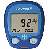 Bayer Contour TS Blood Glucose Monitor Glucometer with 10 free Strips - Lifetime Warranty