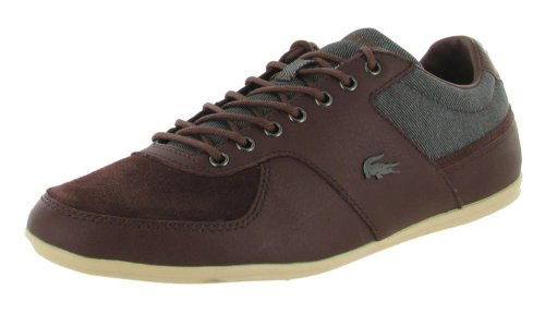 Lacoste Men's Taloire 10 Oxford,Burg/Brown,9.5 M US