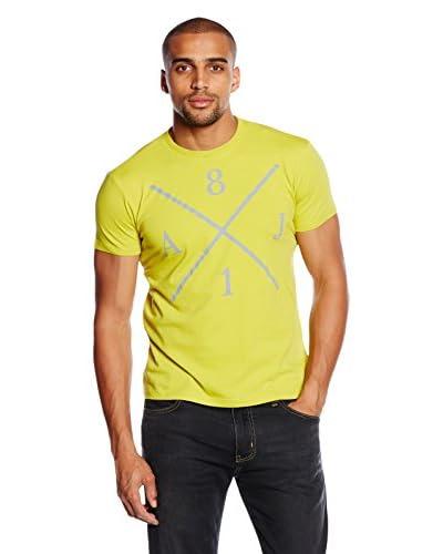 Armani Jeans T-Shirt Manica Corta [Giallo]