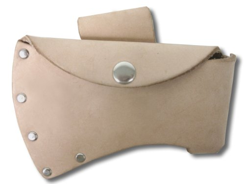 Rawhide Blade Cover / Fits 22210 Camper's Axe, Small (Axe Head Sheath compare prices)