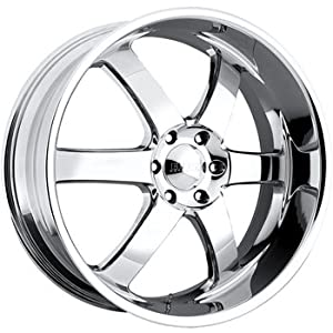 Boss 330 20 Chrome Wheel / Rim 6×135 with a 20mm Offset and a 108.20 Hub Bore. Partnumber 33062894
