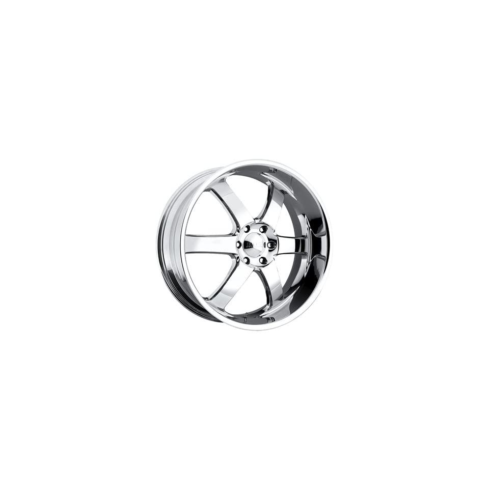 Boss 330 24 Chrome Wheel / Rim 6x5.5 with a 30mm Offset and a 108.20 Hub Bore. Partnumber 33064062