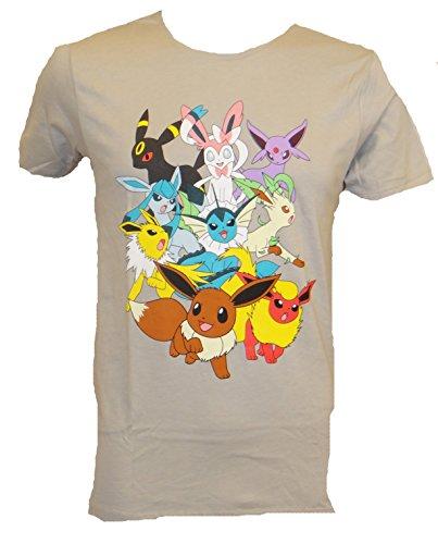 Pokemon-Eevee-Eeveelotions-Group-Form-T-shirt