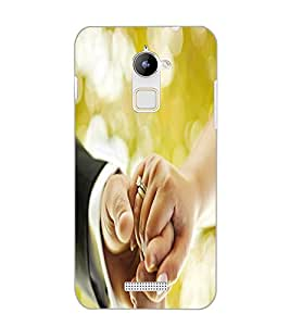 COOLPAD NOTE 3 LITE HOLDING HAND Back Cover by PRINTSWAG