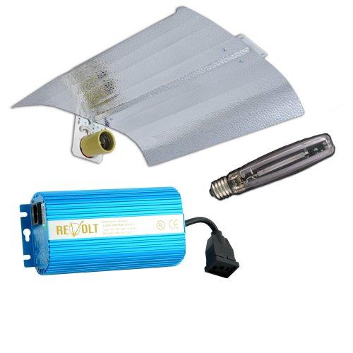 "Grow Light Kit, Wing Reflector (18"" X 18""), 250W Hps Bulb, 250W Digital Ballast"