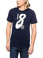Cerruti Camiseta Manga Corta CMM8022850 C0843 (Azul Marino)