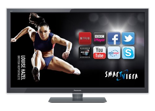 Panasonic TX-L42ET5B 42-inch Widescreen Full HD 1080p 3D LED TV with Freeview HD - Dark Grey
