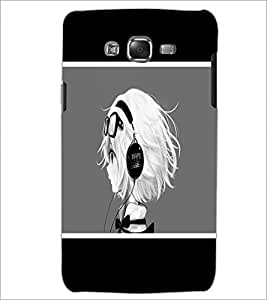 PrintDhaba Music Girl D-1367 Back Case Cover for SAMSUNG GALAXY J5 (Multi-Coloured)